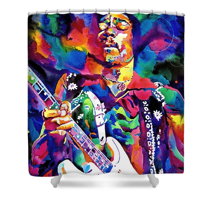 Rock Jimi Hendrix Music Shower Curtains