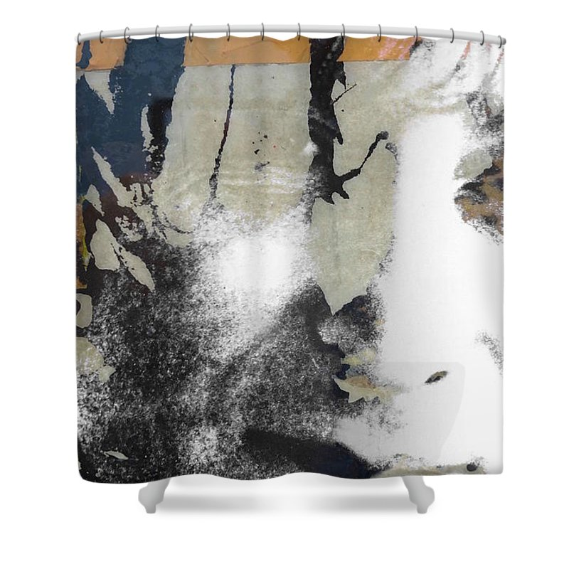 The Beatles Shower Curtain featuring the digital art John Lennon - In My Life by Paul Lovering