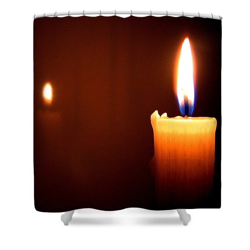 Reflection Shower Curtain featuring the photograph Joie De Vivre by Will Borden
