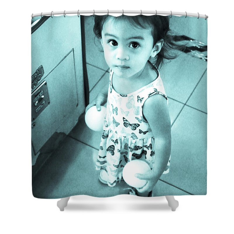 Cavite Shower Curtain featuring the photograph Jolly Balls by Jez C Self
