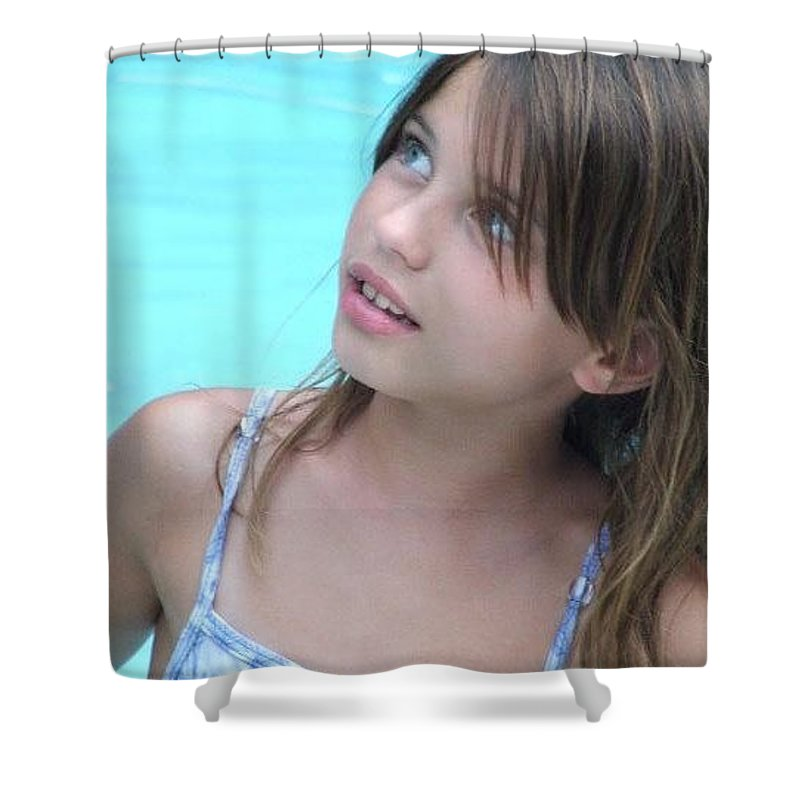 Shower Curtain featuring the photograph Julz by Michelle S White