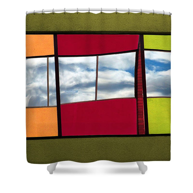 Windows Shower Curtain featuring the photograph June 3 2010 by Tara Turner