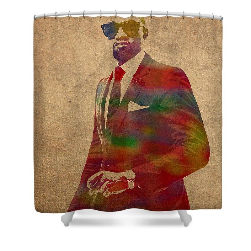 Kanye West Shower Curtains