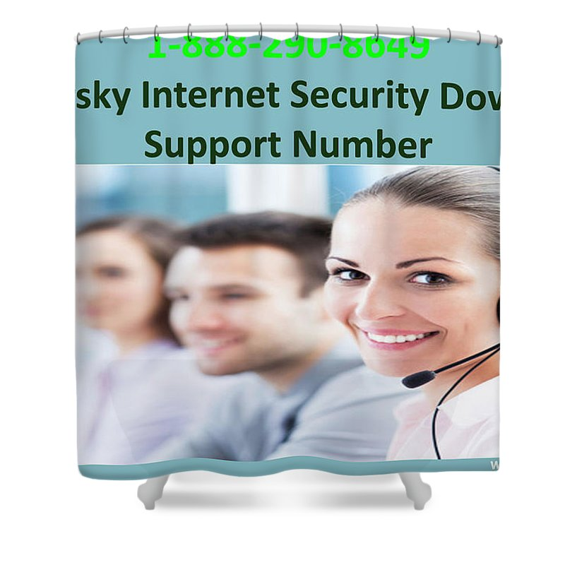 Kaspersky Internet Security Download Support Number Shower Curtain featuring the photograph Kaspersky Internet Security Download Support Number by Jenny Warner
