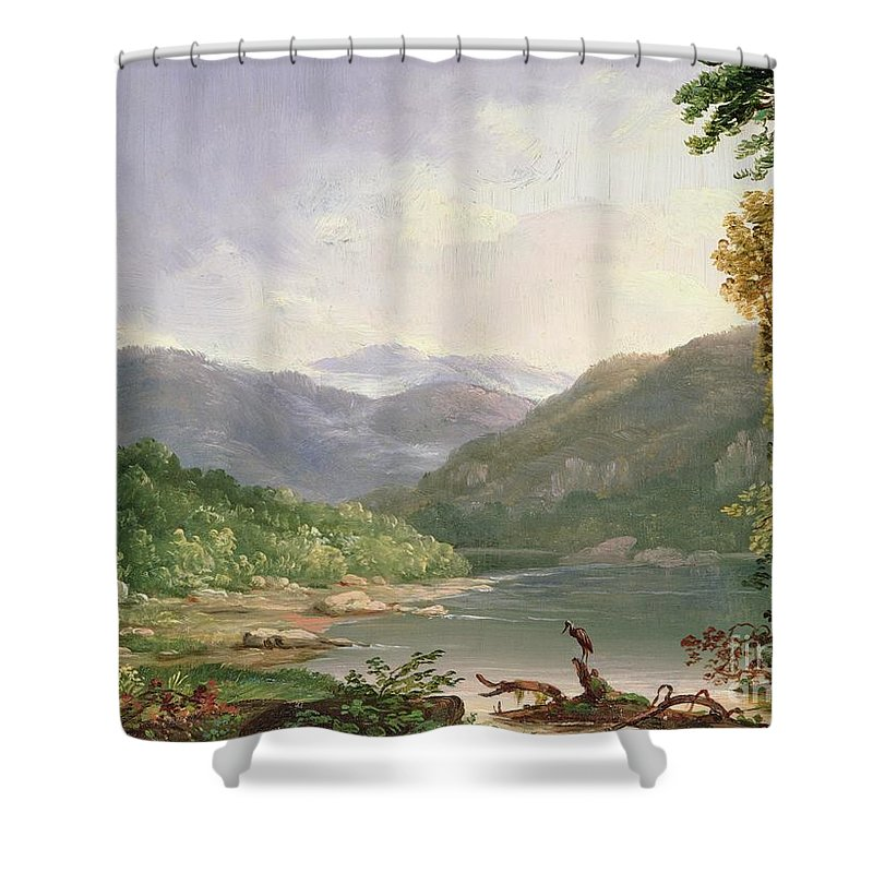 Kentucky River Shower Curtain For Sale By Thomas Worthington Whittredge