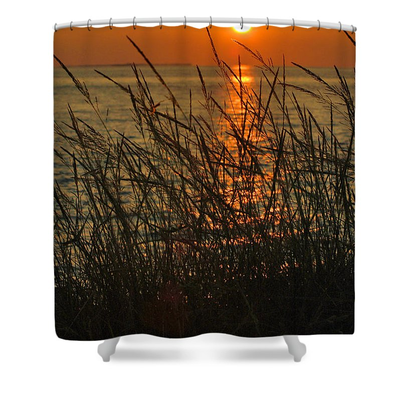 Photography Shower Curtain featuring the photograph Key West Sunset by Susanne Van Hulst