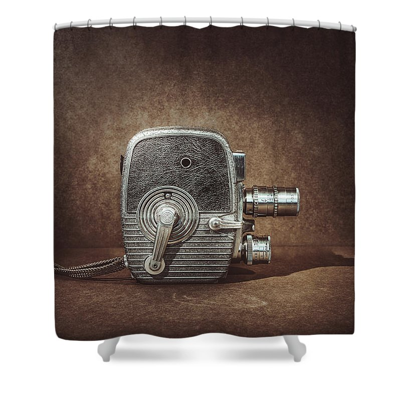 Vintage Shower Curtain featuring the photograph Keystone Capri K28 by Scott Norris