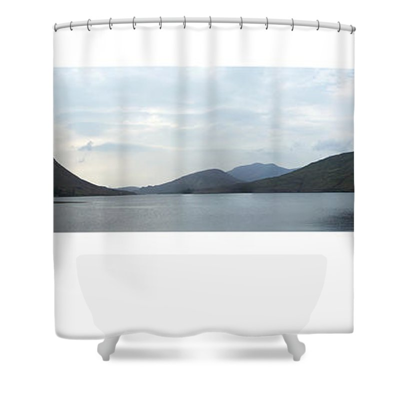Landscape Shower Curtain featuring the photograph Killary Harbour Leenane Ireland by Teresa Mucha