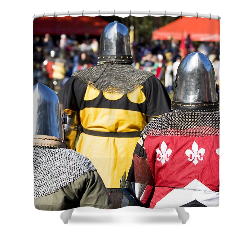 Ages Shower Curtain featuring the photograph Knight Squad by Jorgo Photography - Wall Art Gallery