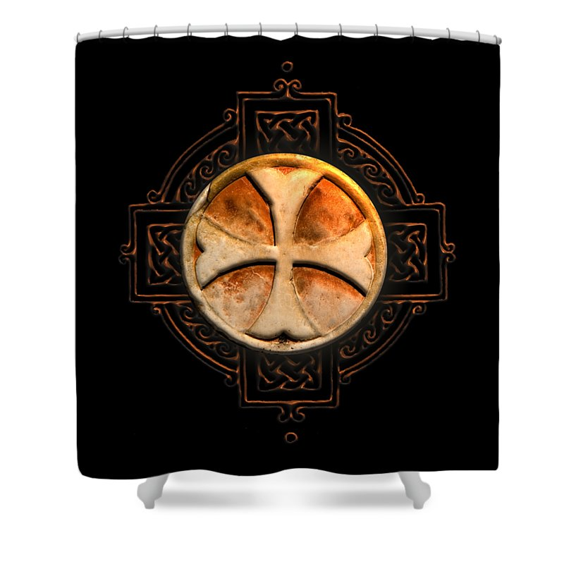 Knights Templar Symbol Re Imagined By Pierre Blanchard Shower