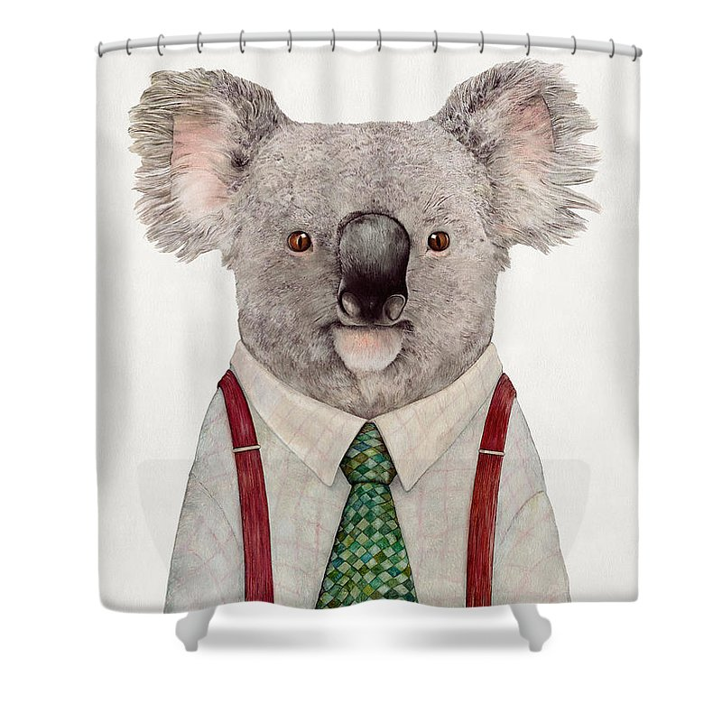 Koala Shower Curtains