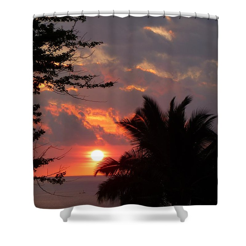 Landscape Shower Curtain featuring the photograph Kona by Lisa Spero