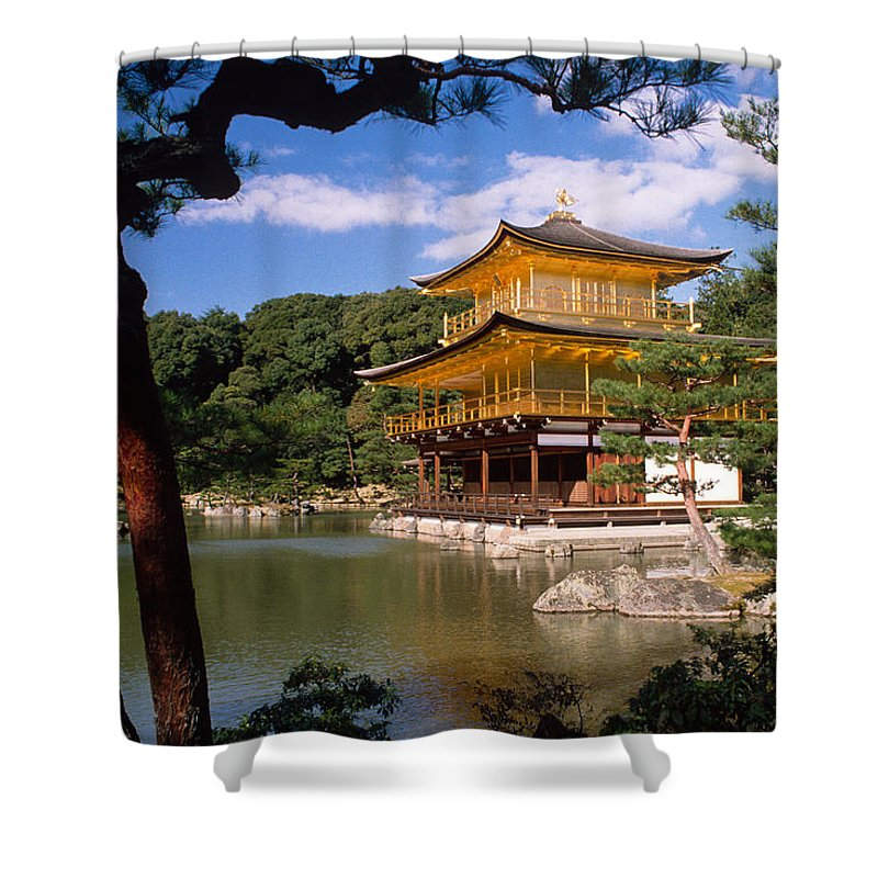 Asia Shower Curtain featuring the photograph Kyoto by Michele Burgess