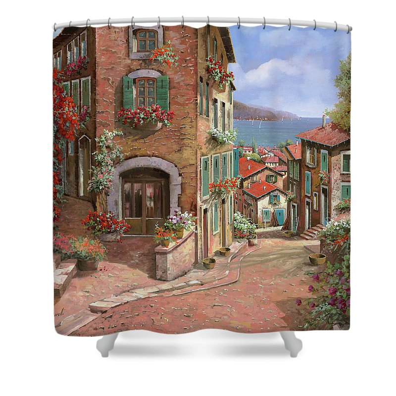 Liguria Shower Curtains