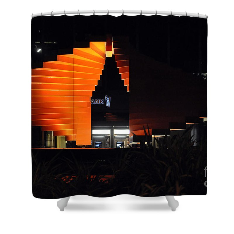 Clay Shower Curtain featuring the photograph L.a. Nights by Clayton Bruster