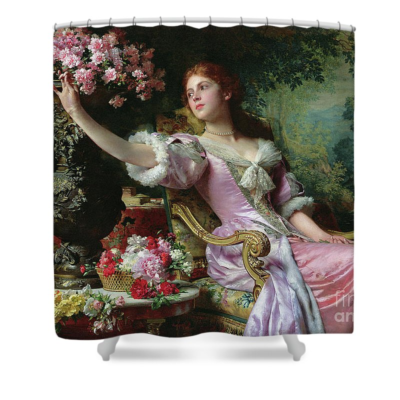 Designs Similar to Lady With Flowers