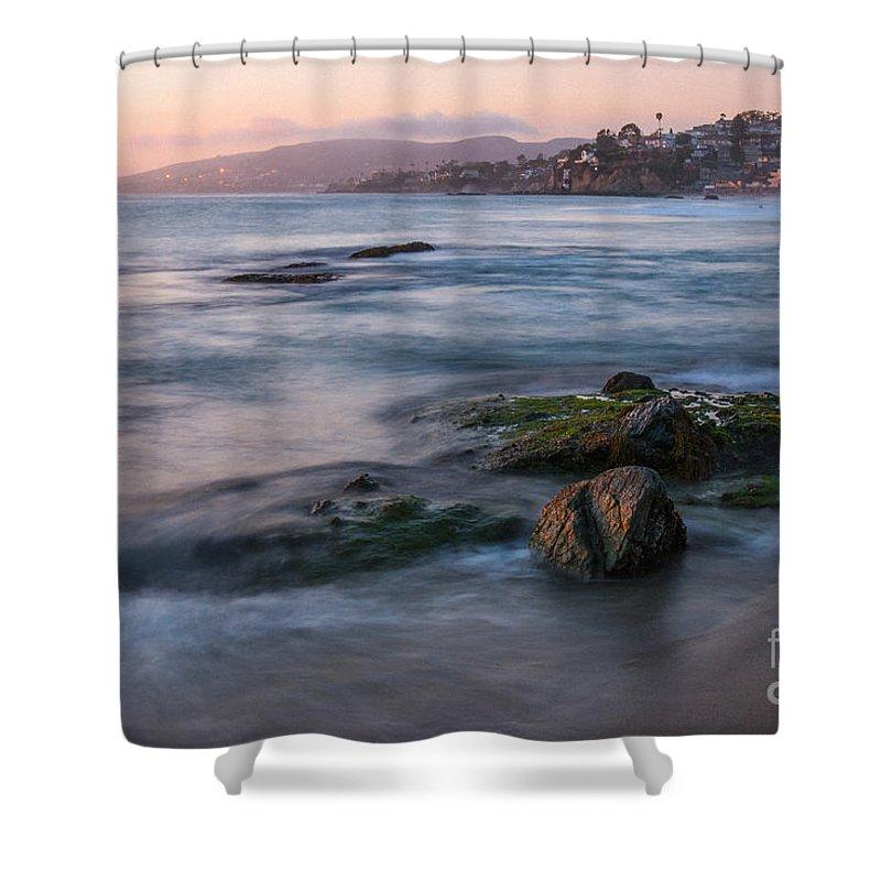 Beach Shower Curtain featuring the photograph Laguna Beach by Brandon Bonafede