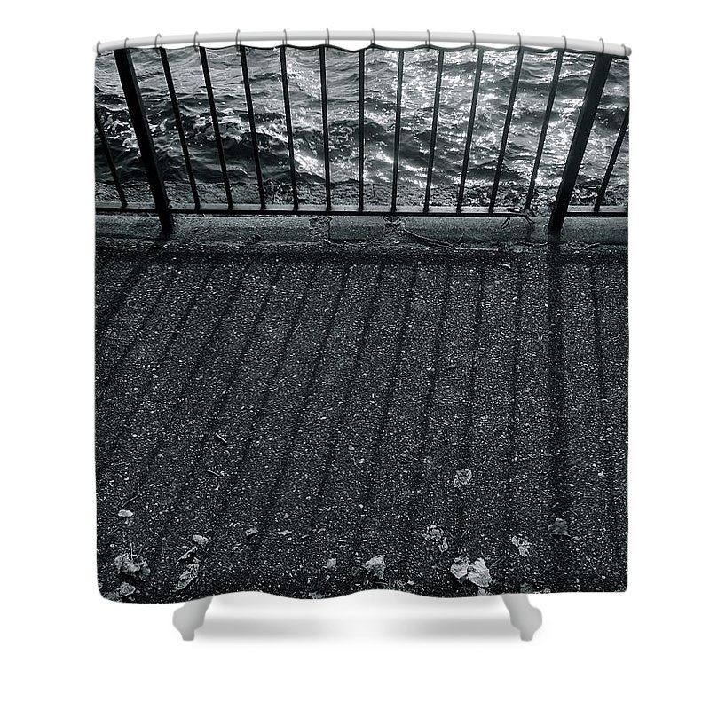 Lakes Shower Curtain featuring the photograph Lake At Sunset by Julian Grant