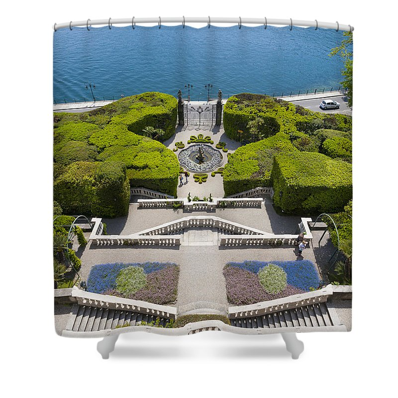 Europe Shower Curtain featuring the photograph Lake Como,villa Carlotta, Italy by Marco Arduino