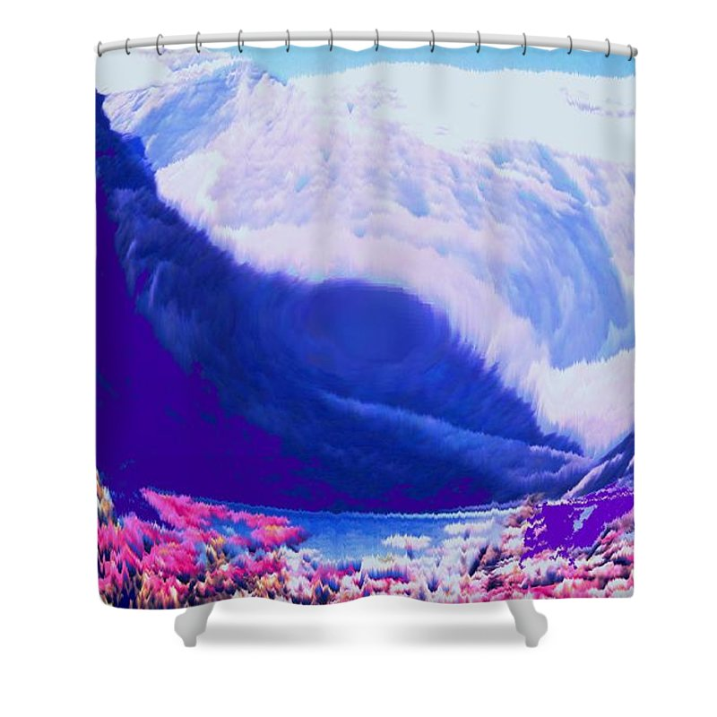 Lake Louise Shower Curtain featuring the photograph Lake Louise by Ian MacDonald
