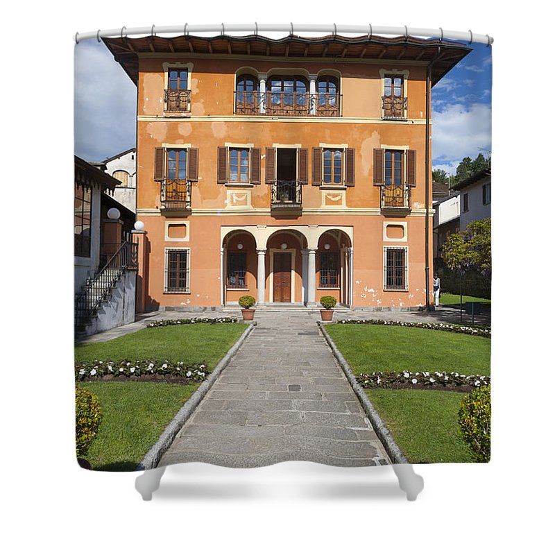 Europe Shower Curtain featuring the photograph Lake Orta, Piedmont, Italy  by Marco Arduino