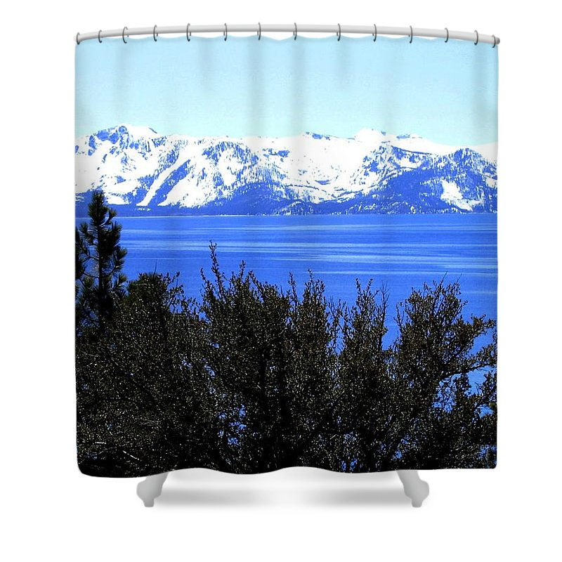Lake Tahoe Shower Curtain featuring the photograph Lake Tahoe by Will Borden