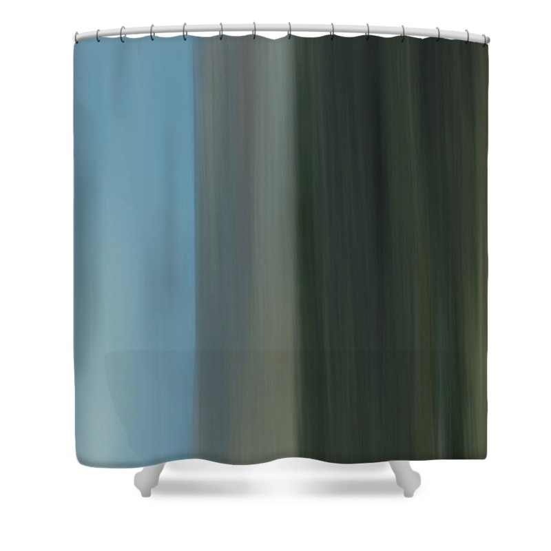 Shower Curtain featuring the photograph Landscape by Kevin Cote