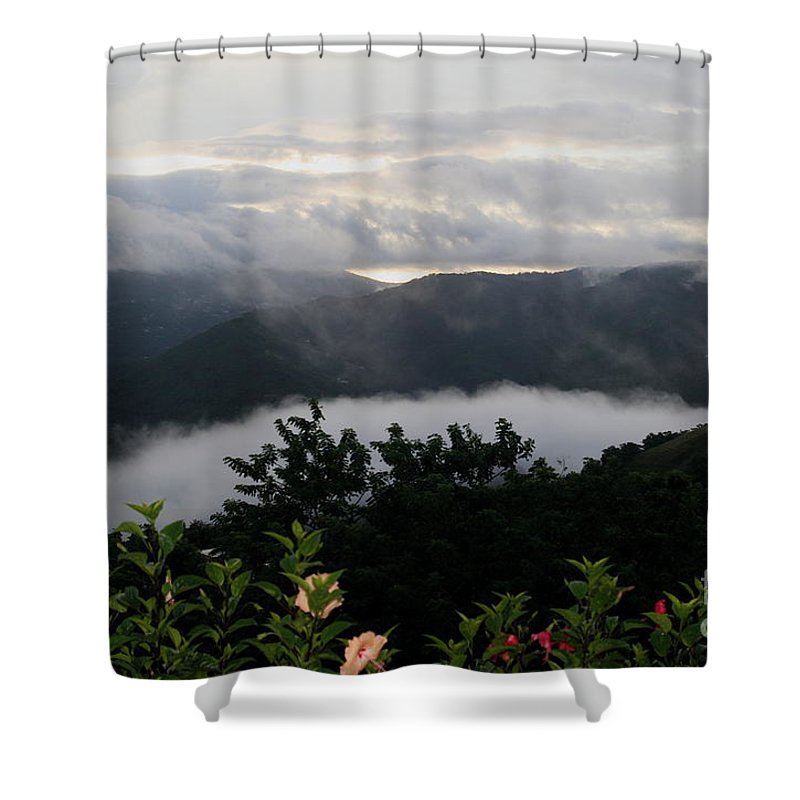 Landscape Shower Curtain featuring the photograph Landscape Tropical by The Art of Alice Terrill