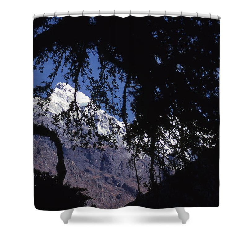 Langtang Shower Curtain featuring the photograph Langtang by Patrick Klauss