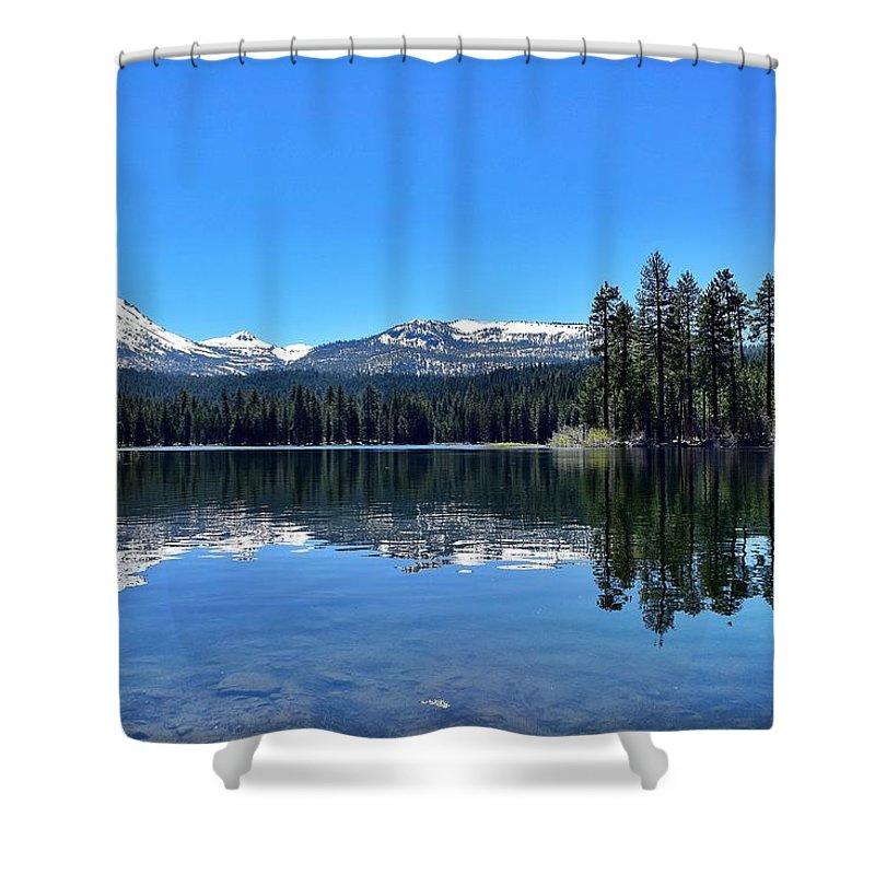 Lassen Volcanic National Park Shower Curtain featuring the photograph Lassen Volcanic National Park by Sagittarius Viking