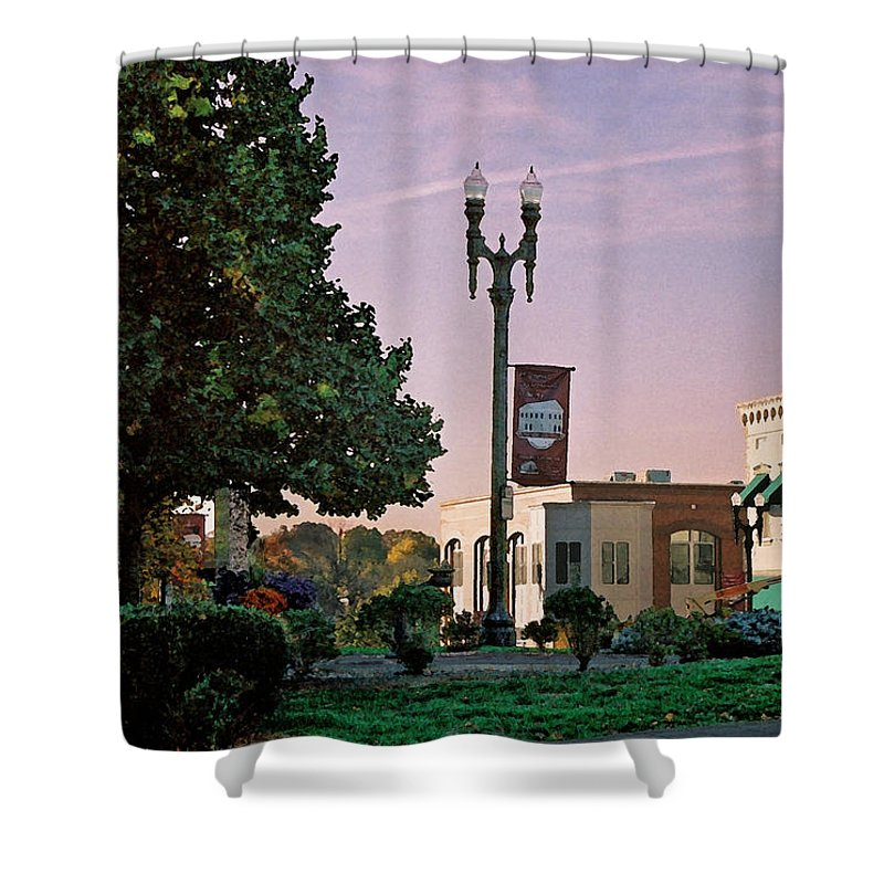 Landscape Shower Curtain featuring the photograph Late Sunday Afternoon by Steve Karol