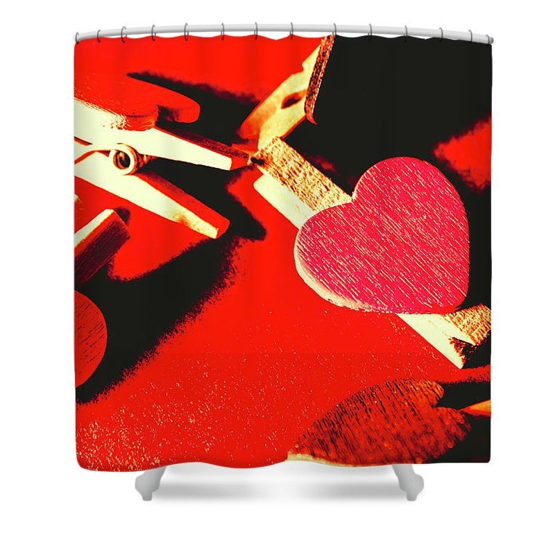 Object Shower Curtain featuring the photograph Laundry Love by Jorgo Photography - Wall Art Gallery