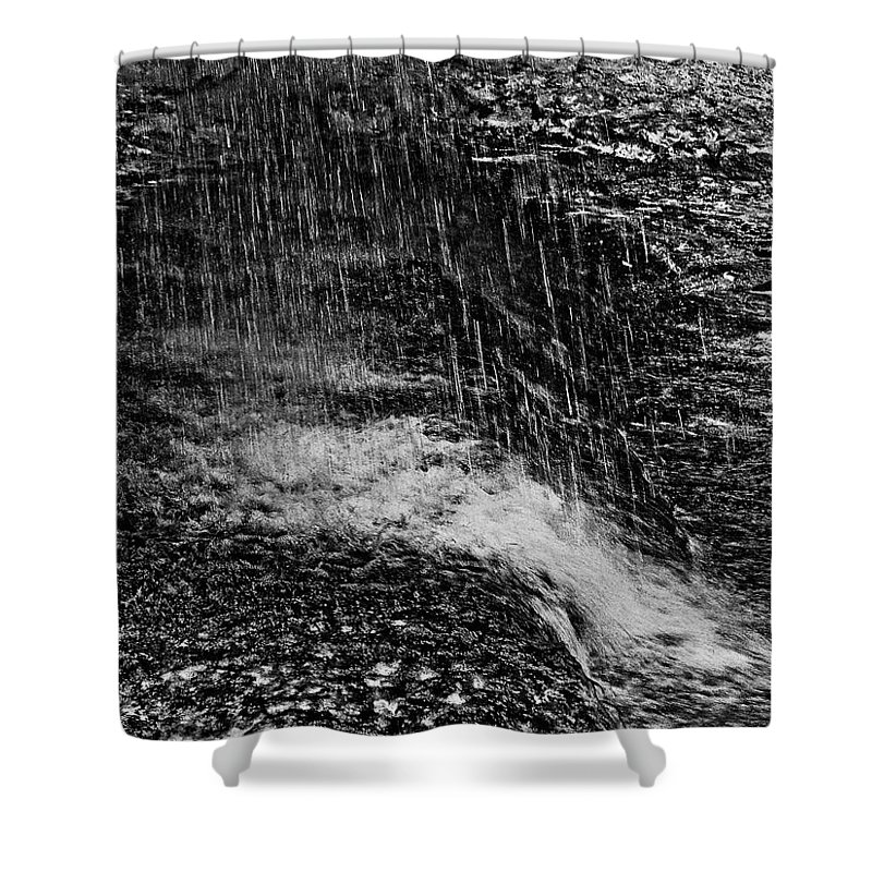 Falls Shower Curtain featuring the photograph Lava Falls by Michael Bessler
