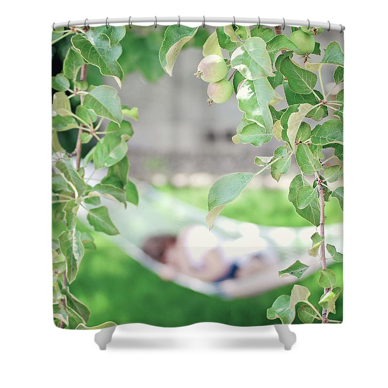 Summer Shower Curtain featuring the photograph Lazy Days Of Summer by Lisa Knechtel
