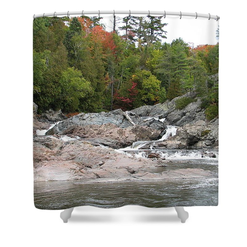 River Shower Curtain featuring the photograph Lazy River by Kelly Mezzapelle