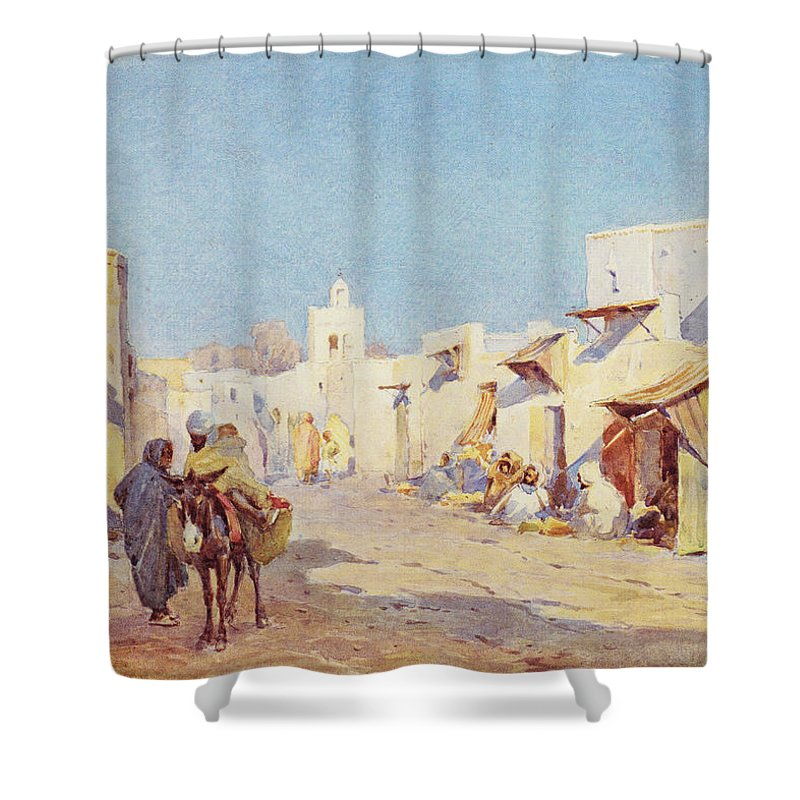 Leopold Carl M�ller Shower Curtain featuring the photograph Leopold Carl Muller 1887 by Munir Alawi