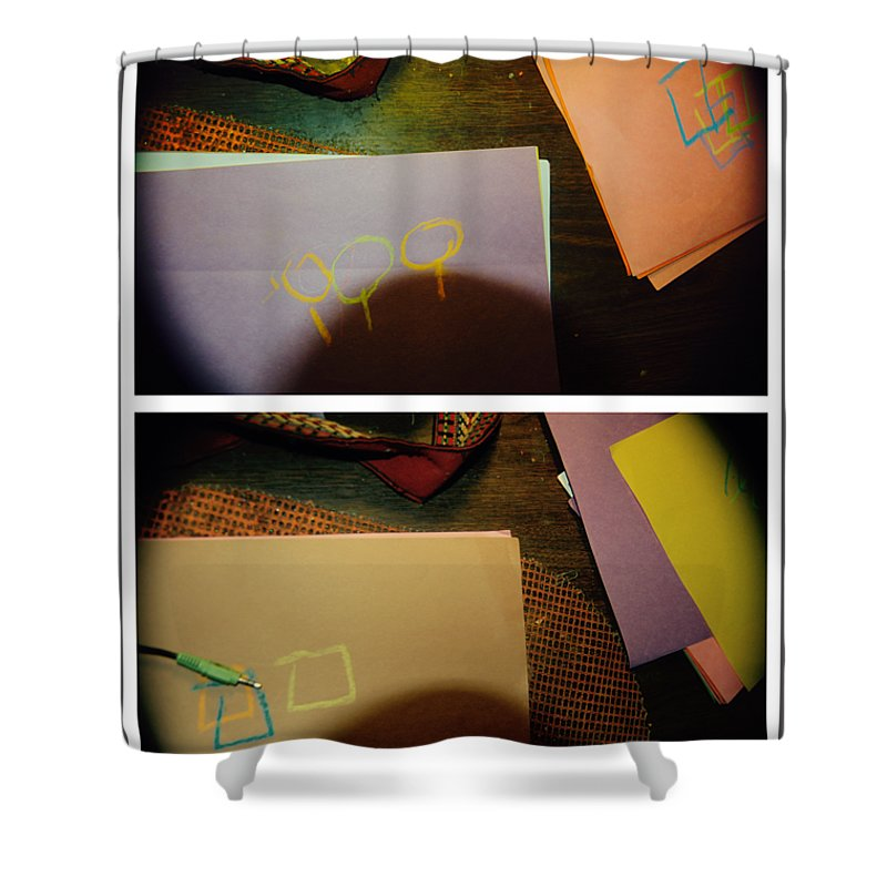 Abstract Shower Curtain featuring the photograph Let The Praise Begin by Alwyn Glasgow