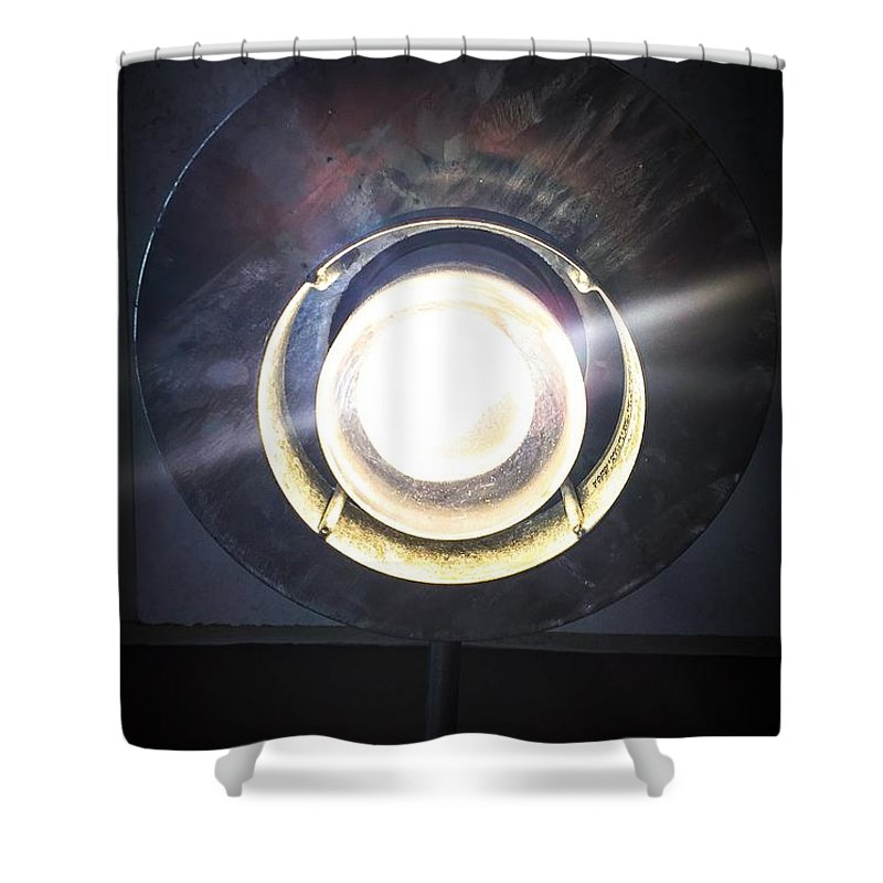 Light Shower Curtain featuring the photograph Let There Be Light by Kendall Tabor