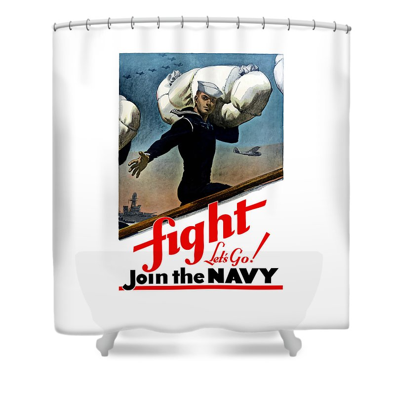 Us Navy Shower Curtains