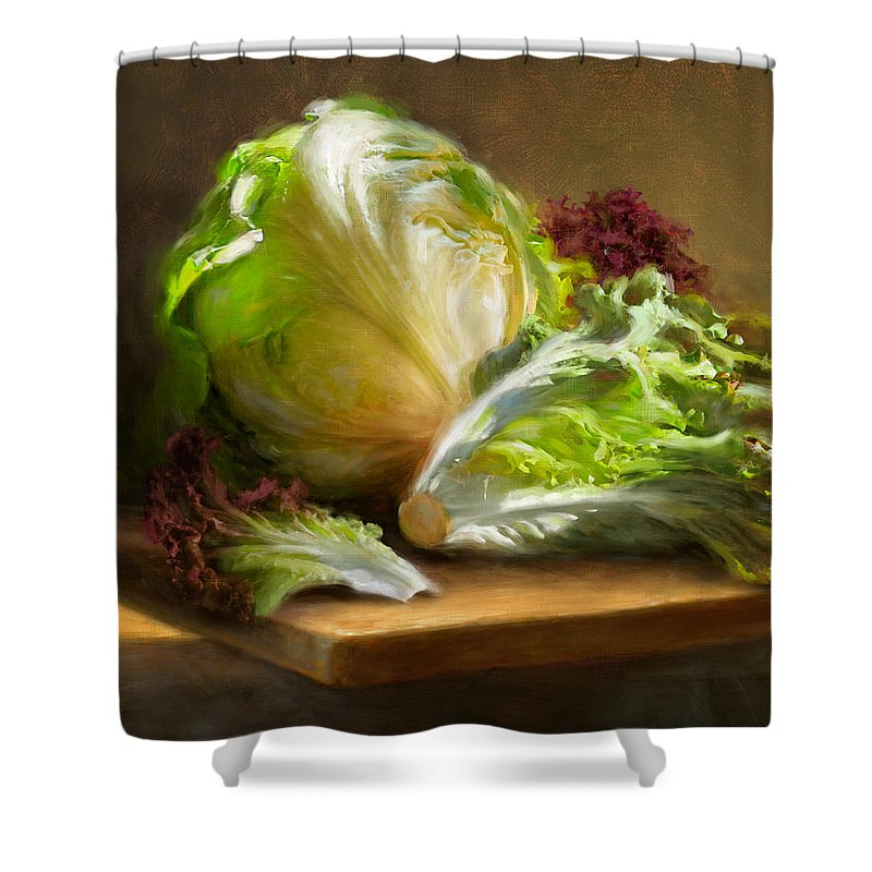 Lettuce Shower Curtains