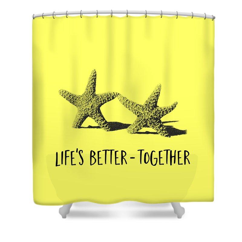 Starfish Shower Curtains