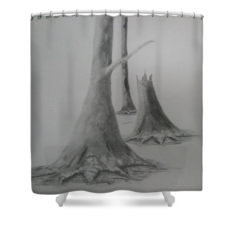 Shower Curtain featuring the photograph Life by Joshua Addison