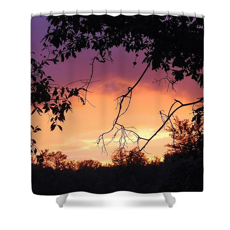 Storm Shower Curtain featuring the photograph Light At The End Of The Storm by J R Seymour