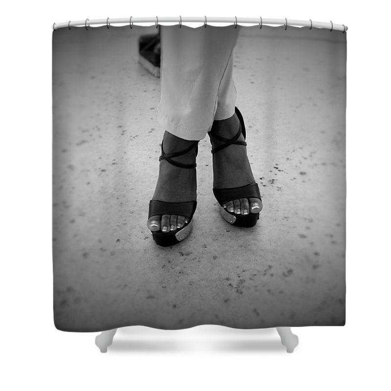 Barefeet Shower Curtain featuring the photograph Light Brown 15 by Christopher White