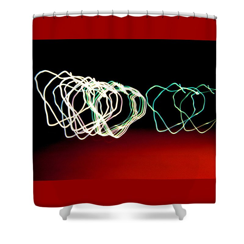 Heart Shower Curtain featuring the photograph Light Hearted by M Pace