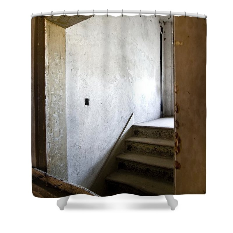 California History Shower Curtain featuring the photograph Light My Way by Norman Andrus