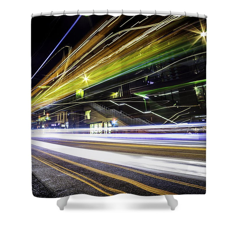 Long Exposure Shower Curtains