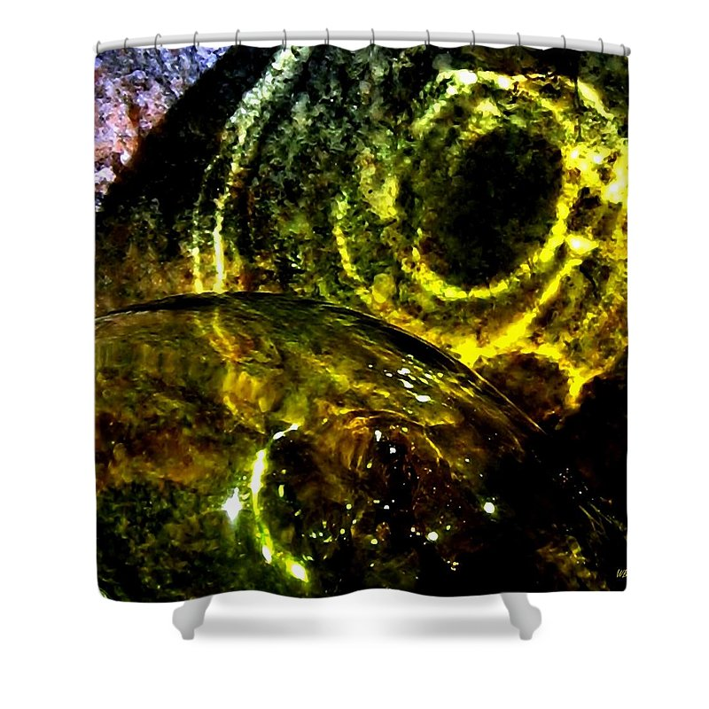 Glass Ball Shower Curtain featuring the photograph Limelight by Will Borden