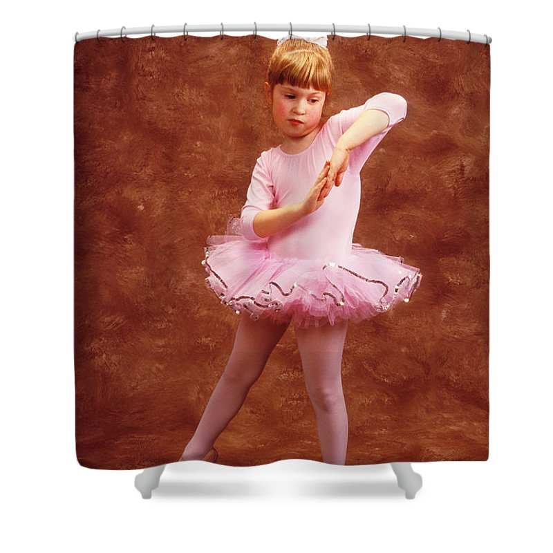 Dancer Shower Curtain featuring the photograph Little Dancer by Garry Gay