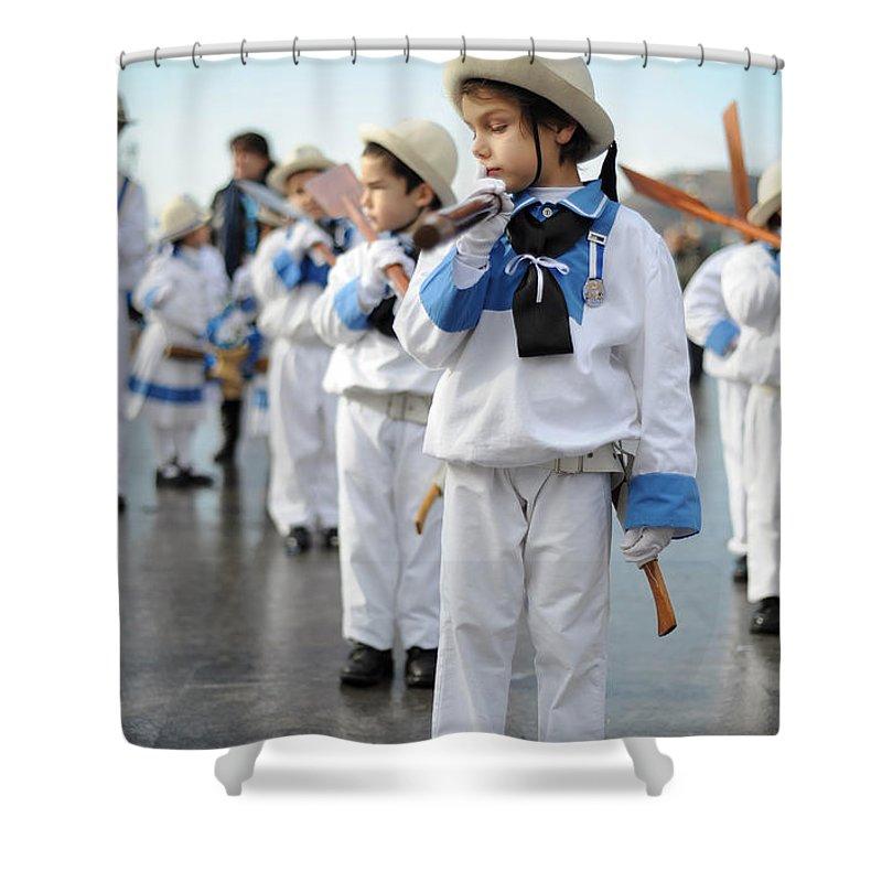 Spain Shower Curtain featuring the photograph Little Sailors by Rafa Rivas